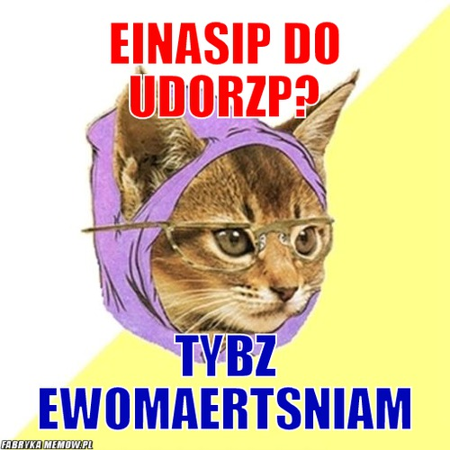 Einasip do Udorzp? – Einasip do Udorzp? Tybz ewomaertsniam