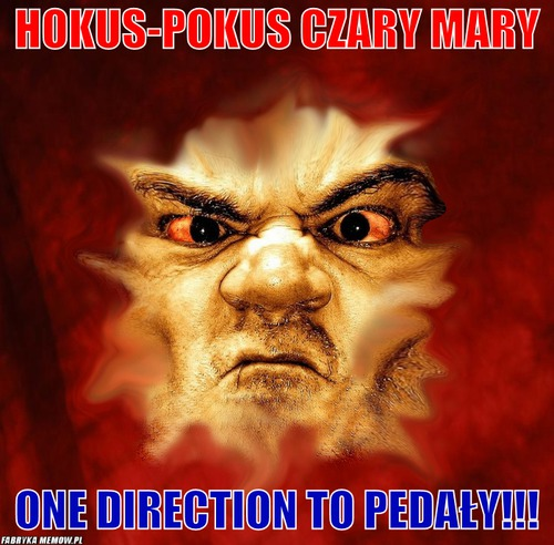Hokus-Pokus czary mary – Hokus-Pokus czary mary one direction to pedały!!!