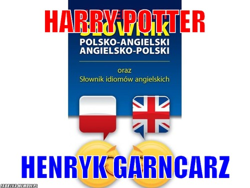 Harry potter – harry potter henryk garncarz
