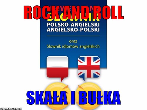 Rock and roll – rock and roll skała i bułka