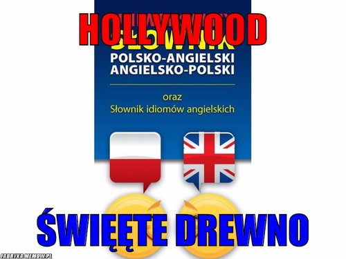 Hollywood – hollywood święęte drewno