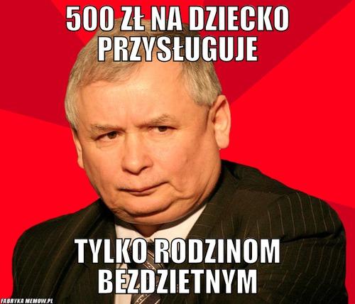 500 zł na dziecko a rodzinne